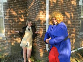 England's run and hide adventure! part 5 by okamixcosplayer