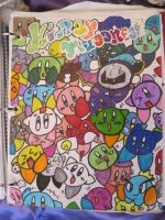 Kirby Madness by MissDrawsAlot