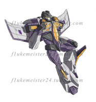 Commission - Armada Skywarp by CatgirlKitsune