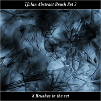 Abstract brush set 2 by tfcian