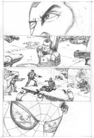 """""""A Day in...Marvel"""" Pg1 by JNcomix"""