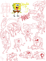 ~SpOnGiE sKeTcHeS~ by jani-lee