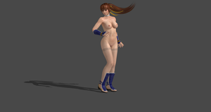 How to create customize to nude DOA5 models Ep.07 by bstylez