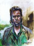 Eugene Porter from The Walking Dead by Fusciart