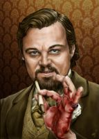 DiCaprio from Django Unchained film. by Nyu-Lilu