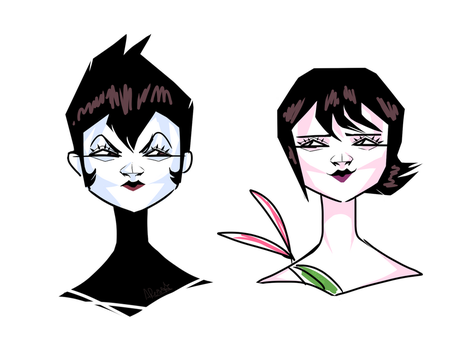 Ashi Doodles by AnnieRoseMB