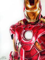 Iron Man Colour by AndresBellorin-ART