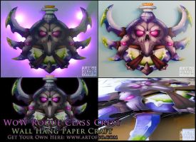 WoW Class Crest: Rogue by StrayaObscura