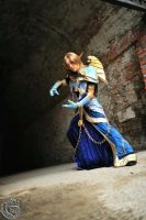 Blood Elf Priest T5 - World of Warcraft by azka-cosplay