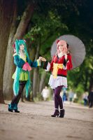 Vocaloid ~ Project Diva by Daiyame