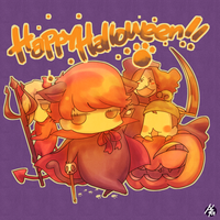 Mini-chem Halloween by nezumi-zumi