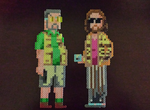 Walter and The Dude by psycosulu