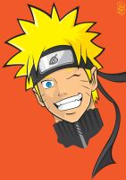 Naruto Colored by GHussain