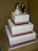Wedding cake 69 by ninny85310
