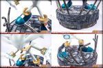 Silver The Hedgehog STATUE F4F - DETAILS! by mathi88