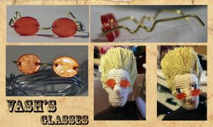 ...Vash's Glasses... by ruiaya