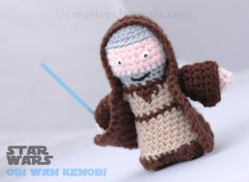 Obi Wan Kenobi Crochet by bicyclegasoline
