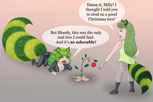 Crappy Christmas Caper by Yeldarb86