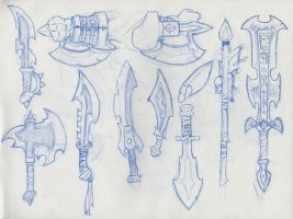Weapons by TheStangman