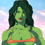 She-Hulk by MoonFX