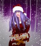 Animated Hinata Christmas by MimiSempai