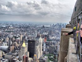 Top of Empire State Building by JonCiaccio