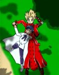 Vash and Meryl cloud gazing by gothickitty