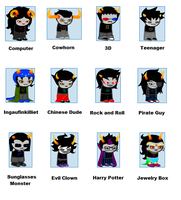 Homestuck According to... by symphybunny