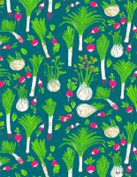 Leek pattern by Gnulia