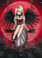 Black Angel of the Red Moon by Shadow-chan93