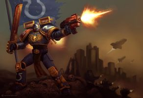 dawn of war ultramarine by animot