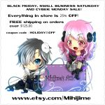 BLACK FRIDAY and other SALES! by mihijime