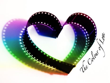 The Colour of Love Logo by Tatteredheartxx