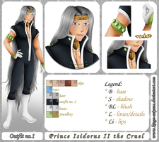 OC Sheet: Isidorus by kinga-saiyans