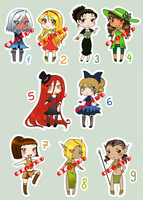 Adopts 1-9 [1/9 OPEN] by mizuchii