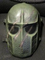 Painted Army of Two Mask by Chaplain-Seraphi