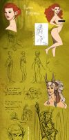 ESO land sketchdump by MakiLoomis