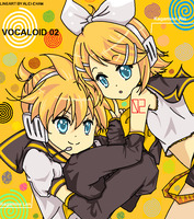 VOCALOID 02 Kagamine Twins by GeekyEffy