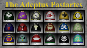 The Adeptus Pastartes by Empyronaut