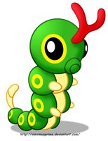 Caterpie by AleximusPrime