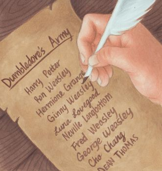 Dumbledore's Army by novahowe
