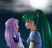 Lyn AND Florina Doing Stuff. by Bottles-63
