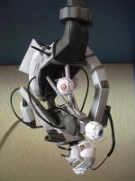 GLaDOS Papercraft 1 by DemonBa55Player