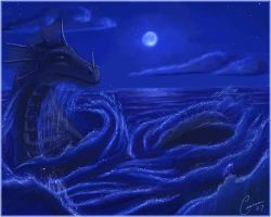 Sea Serpent Lightened by Ciarra