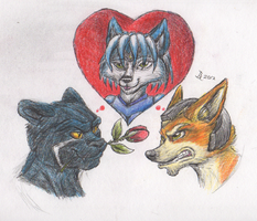 Star Fox Love by BenRusk