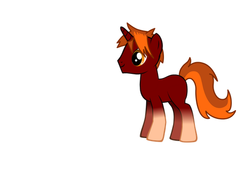 OC: Fireblaze Sunset by superdude2075