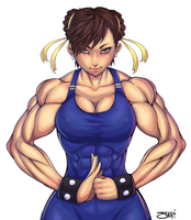 Commission: Chunli by ItsJustSuppi