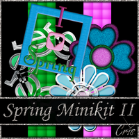 Cris Spring Minikit II by only1crisana
