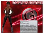 Captain Stacey 's Bio by The-Sunstrider