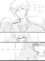 Sherlock's Deduction Doujinshi by kyunyo